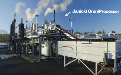 Omni Processor – Turning raw sewage into clean drinking water