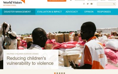 World Vision – Utilising technology in emergency response